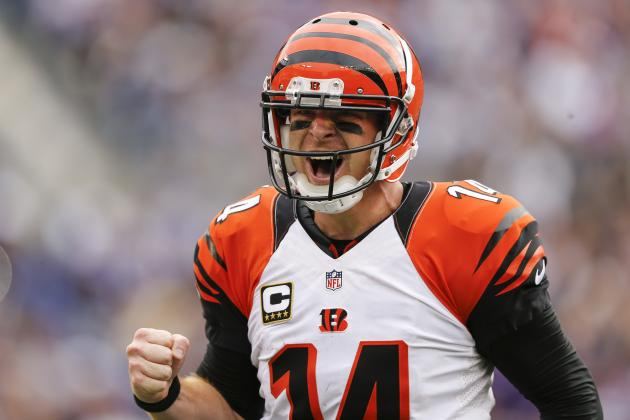 Andy Dalton for the Bengals in 2016